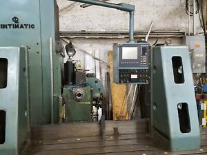 Cintimatic Boring Mill 2h 100 102 l Bed 41 l Vertical Including Tools