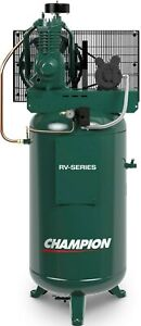 Industrial 5hp Air Compressor 2 Stage 19 1 Cfm Displ Single Phase Vrv5 8 Usa