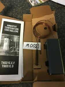 Honeywell Thermostat Ambi stat T4031c 1004 0528 m 002 New