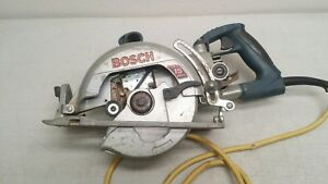 Bosch 1677md Worm Drive Saw 15amps 7 25 Inches Sold As Is