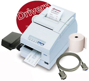 Epson Tm h6000ii Pos Printer Receipt With Cable 1x Roll For Windows 2000 Xp