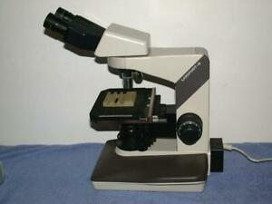 Nikon Labophot 2 Microscope E Plan 10x 40x With Nanodyne Led Light Cfwn 10x 20
