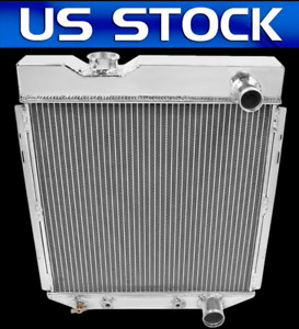 3 Row Core Aluminum Radiator For 1965 1966 Ford Mustang V8 260 289 At Mt 66 Pro