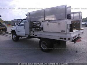1999 Dodge Ram 3500 Custom Aluminum Flat Bed