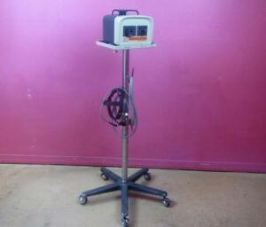 Quadrilite 6000 Universal Fiberoptic Surgical Headlight 150w Light Source Stand