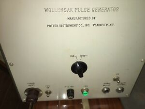 Vintage Wollensak Tube Pulse Generator Model 3106 A Local Pick Up Only