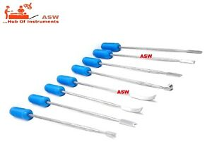 8 Pcs Set Of Cement Retractor Hip Surgery Orthopedic Instrument Free Shipping