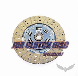 Jdk 2007 2010 Ford Mustang 4 0l V6 Stage2 Sport Clutch Disc 10 Spline 10inch