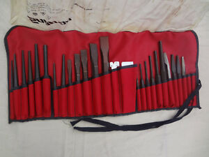 Snap On Tools Punch And Chisel Set Brand New