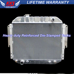 Kks 3 Row Radiator Fit 75 91 Ford E 150 E 250 E 350 Econoline Van 5 0 5 8 6 6 V8
