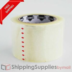 Clear Packaging Tape For Carton Box Storage Moving Shipping 3 X 100 Yds 72 Rls