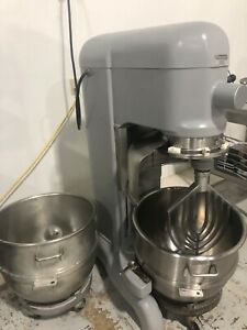 Hobart 80 Qt Mixer W Lots Of Extras Attachments And Motor Upgrade 24 000