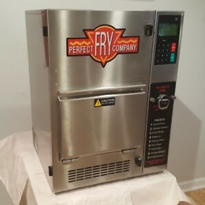Low Cook Count Perfect Fry Ventless Odorless Countertop Deep Fryer Model Pfc5708