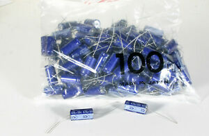 Capacitor Electrolytic 470 Mfd 50 Vdc 100 Pieces