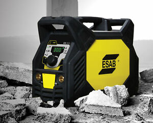 Esab Renegade Es 300 Eu Complete Welding Machine Mma Tig Live Tig Ignition