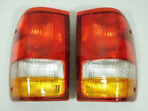 93 97 Ford Ranger Tail Light Brake Lamp Pair Set Driver Passenger Left Right