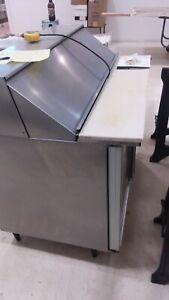 Sandwich Prep Table Refrigerated Nsf