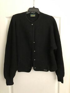 Geiger Collections Black Sweater Size 46