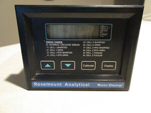 Rosemount Analytical Solu Comp Water Quality Analyzer Scl c 002 m2 used