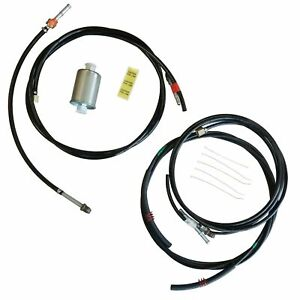1988 1997 Chevrolet Gmc Gas Trucks Complete Nylon Fuel Line Replacement Kit 11pc