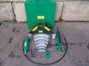 Greenlee 880 1 2 To 2 Inch Hydraulic Bender With Pump