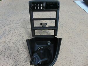 94 99 Ford Mustang Radio Stereo Climate Shift Bezel Trim 5 Speed Black