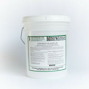 Clear Gloss Concrete Sealer X 4s For Brick Chimneys Walls Or Pavers 5 Gallons