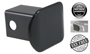 Plastic Hitch Tube Cover 2 X 2 Receiver Tube Opening Plug Rust Free Black