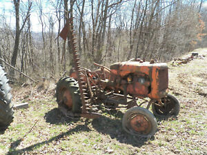 Allis Chalmers B Tractor With Sickle Mower C Ca Wide Front