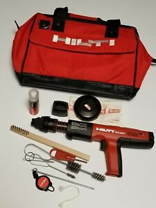 Hilti Dx 351 Powder Actuated Nail Gun Kit New Others