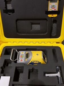 New Spectra Precision Dg613 Red Beam Pipe Laser Dialgrade trimble New
