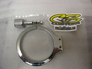 Nitrous Bottle Bracket 2 5lb Billet Aluminum Chrome Produced By C