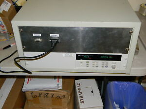 Hp agilent 34970a Data Acquisition Switch W 30 Sensors See Pictures