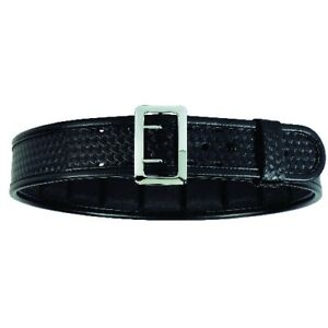Bianchi 22233 48 Waist 7960 Basketweave Sam Browne Duty Belt W Chrome Buckle