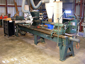 Oliver Cnc Wood Lathe With 3 Servo Controled Axis And Up To 120 Between Centers