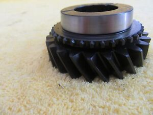 65 70 Amc Nos Borgwarner T10 4 Speed 24 Tooth 3rd Gear 3182321 T10p 11