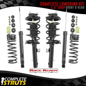 2000 2005 Ford Focus Sport Shocks Lowering Springs Kit 1 5 Drop