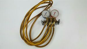 J B Industries Hvac 2 Valve Manifold And Hoses
