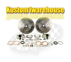 Rear Disc Brake Conversion Kit For 52 67 4 Lug Vw Volkswagen Without Emergency