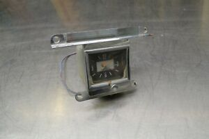 1966 Ford Galaxie Dash Clock 500 Xl 7 Litre Ltd Bezel Housing Electric Untested