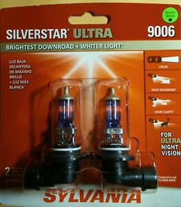 Sylvania Silver Star Ultra 9006 For Ultra Night Vision Free Shipping Brand New