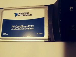 National Instruments Ni Pxi cardbus8310 Laptop Cont Of Pxi With Pcmcia Cardbus