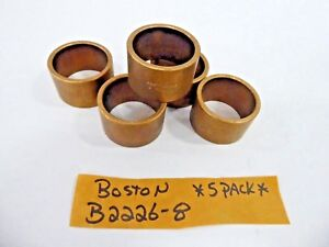 Boston B2226 8 Plain Sleeve Bearing Bronze Bushing 1 3 8 X 1 5 8 X 1 pack Of 5