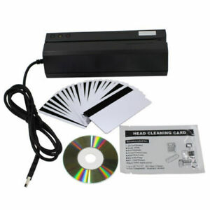 Msr606i Magnetic Credit Card Reader Writer Encoder 3 track