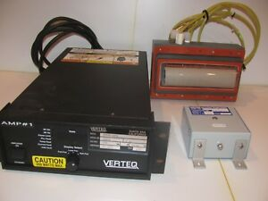 Verteq advanced Energy Rf Amplifier With Transducer And Matching Transformer