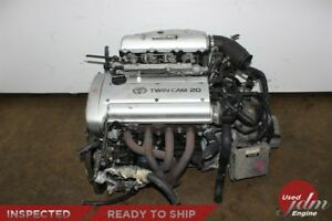 Toyota Corolla 4a Ge Silver Top Jdm 4age 20 Valve Engine 5 Speed Manual Trans