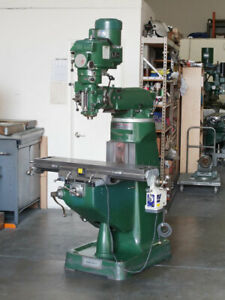 Alliant Milling Machine V s 9 42 Refurbished