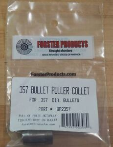 Forster Bullet Puller Collet .357-(BP2357) NEW in Package