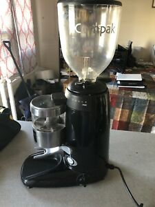 Compak K6 Equipped Espresso Coffee Grinder Doser Flat Burrs 64mm Pro 64p612