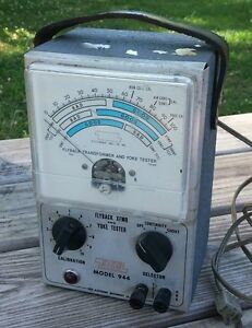 Vintage Eico Model 944 Flyback Transformer And Yoke Tester Early 1970 s
